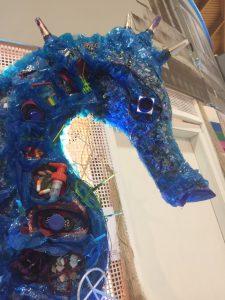 Ecomondo installazione artistica a partire dai rifiuti - ACIAM