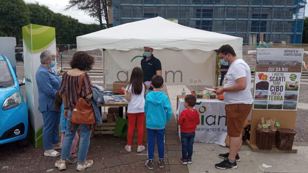 ACIAM Giornata Mondiale Dell Ambiente Piazza Risorgimento Avezzano 06-06-2021