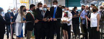 Taglio del nastro - ampliamento impianto di compostaggio Aciam
